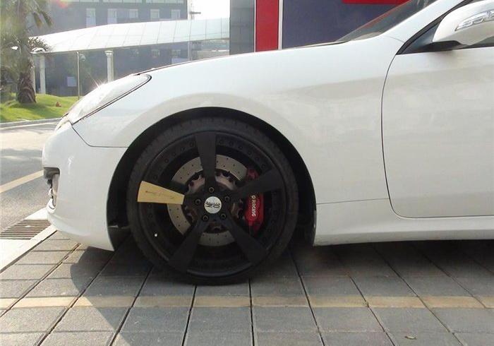 劳恩斯Coupe改20寸三片锻造轮毂