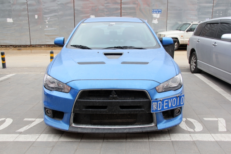 蓝色多瑙河--三菱EVO10改装 - 三菱,蓝瑟EX-车