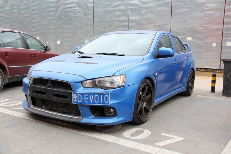 蓝色多瑙河--三菱evo10改装 - 改装展示 --汽车改