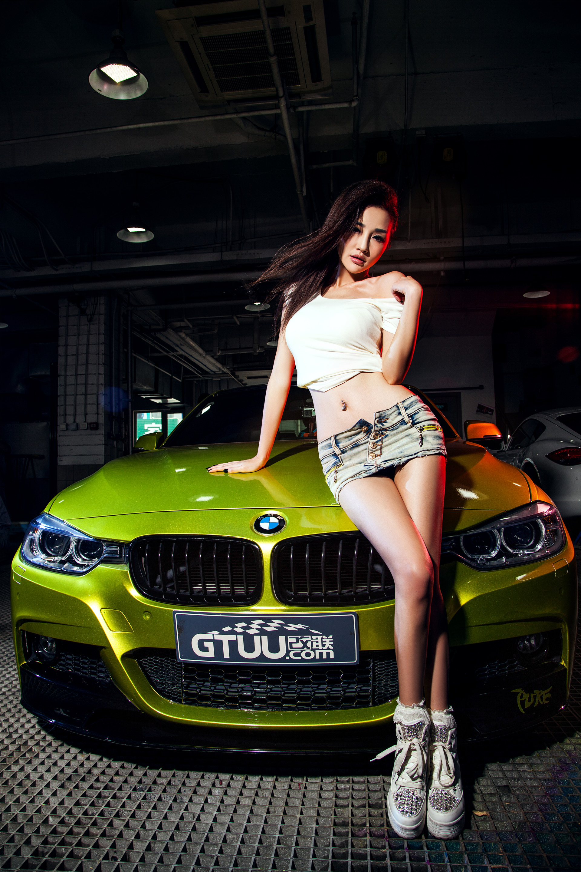 BMW王子与辣模伊彦演绎绝美湿身诱惑
