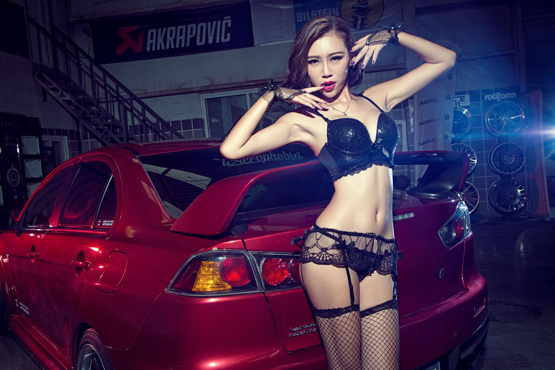 东瀛武者EVO与性感舞者乔米的华丽PK