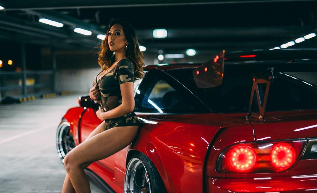 红色诱惑 邂逅经典Nissan180SX