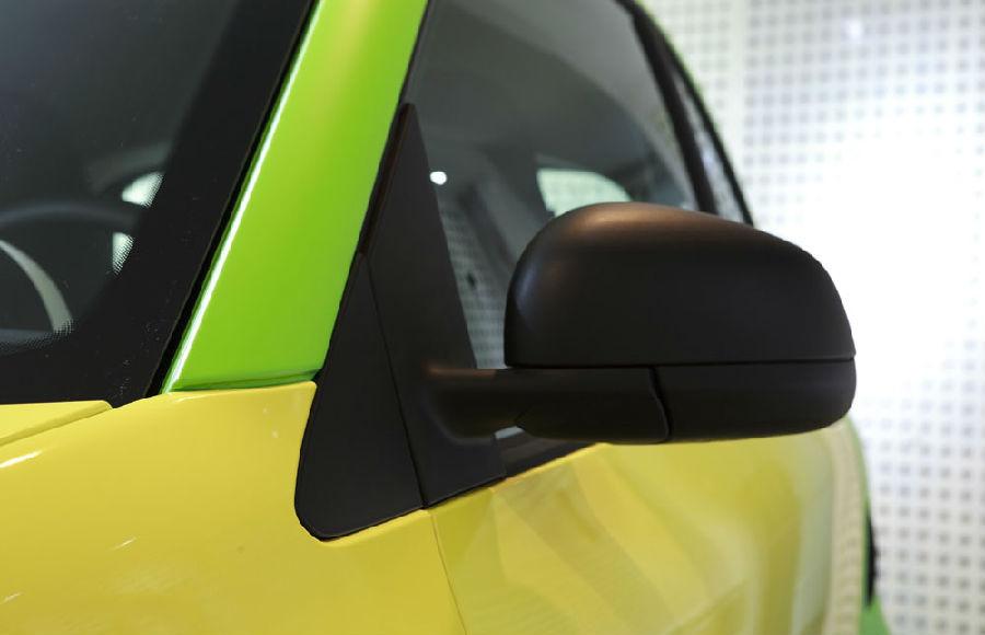全新Smart雅龙亮光黄+艾丽亚光绿贴膜