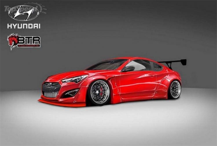 Blood Type Racing改现代劳恩斯Coupe