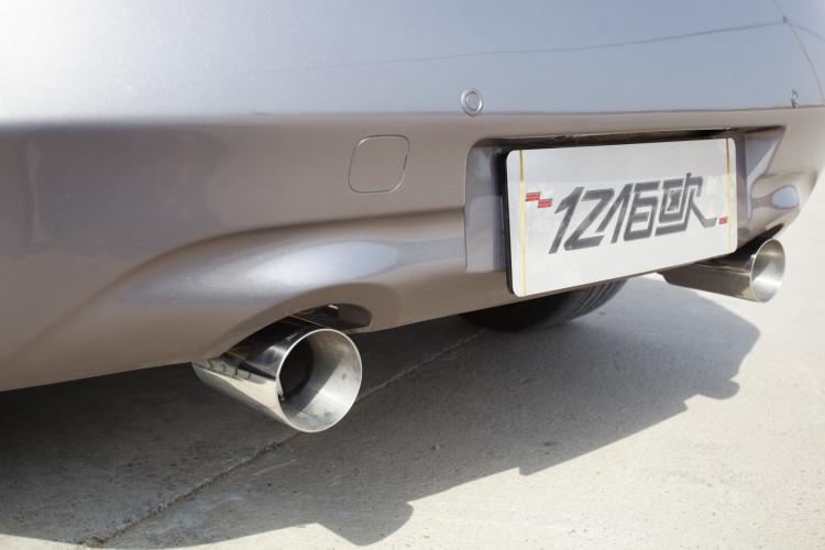 英菲尼迪G37s Coupe改装冠军排气