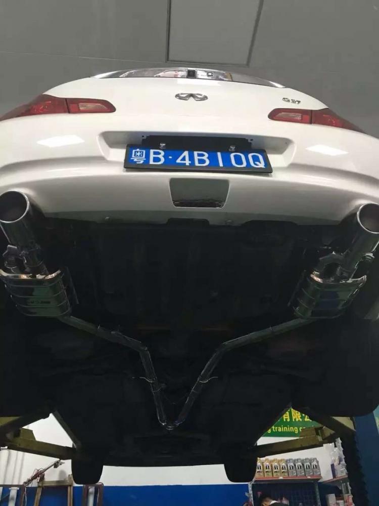 英菲尼迪G37 改装升级CAS智能可变阀门排气