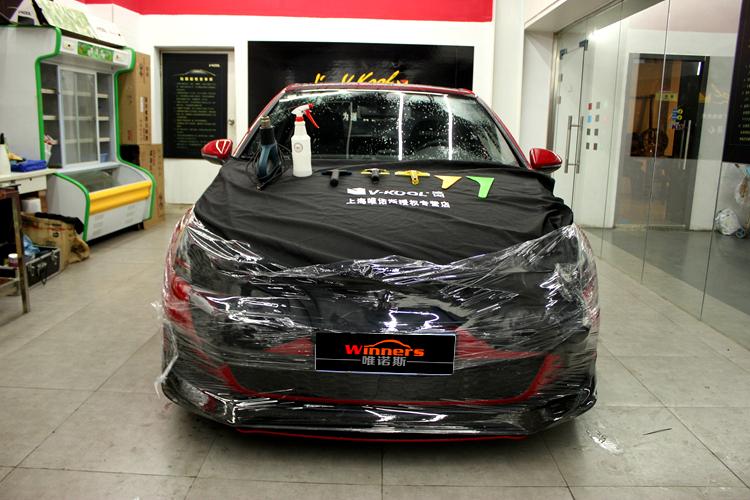 上海威固 高尔夫GTI贴V70+K28顶级隔热膜