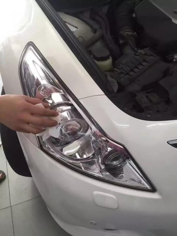 英菲尼迪G37汽车专业升级,车灯加亮,