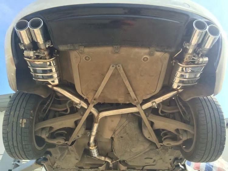 奥迪A5排气SETRS双通病升级。-奥迪,A5-车荣威750发动机阀门图片