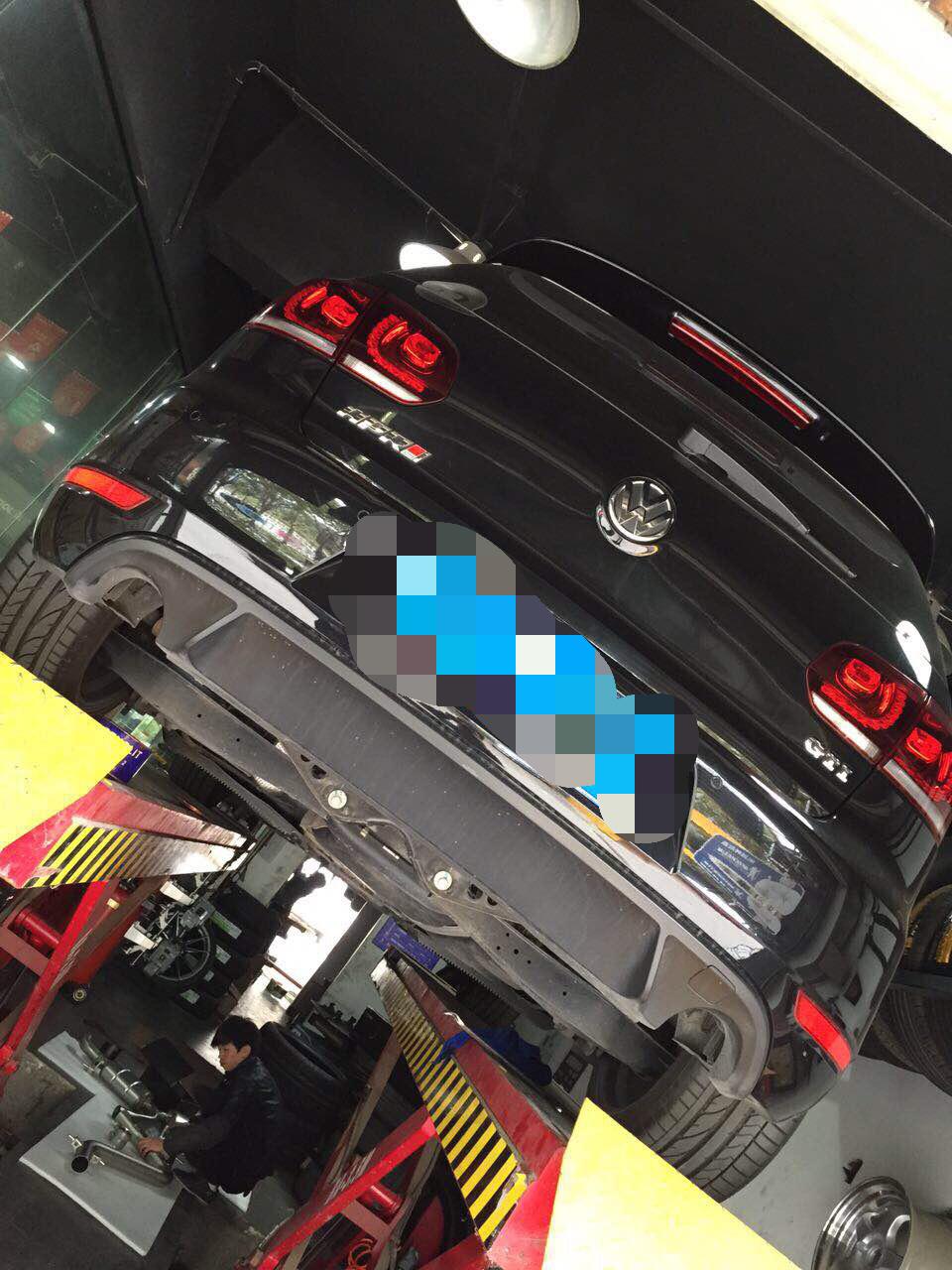 高尔夫GTI6代升级天蝎排气系统