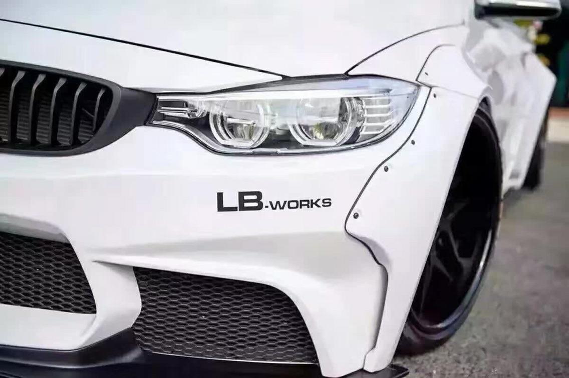 白马王子BMW 4 series LB-Peformance 宽体套件
