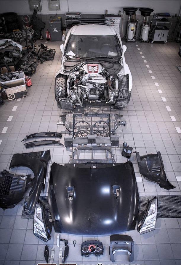 GTR R35 历经磨难,浴火重生…