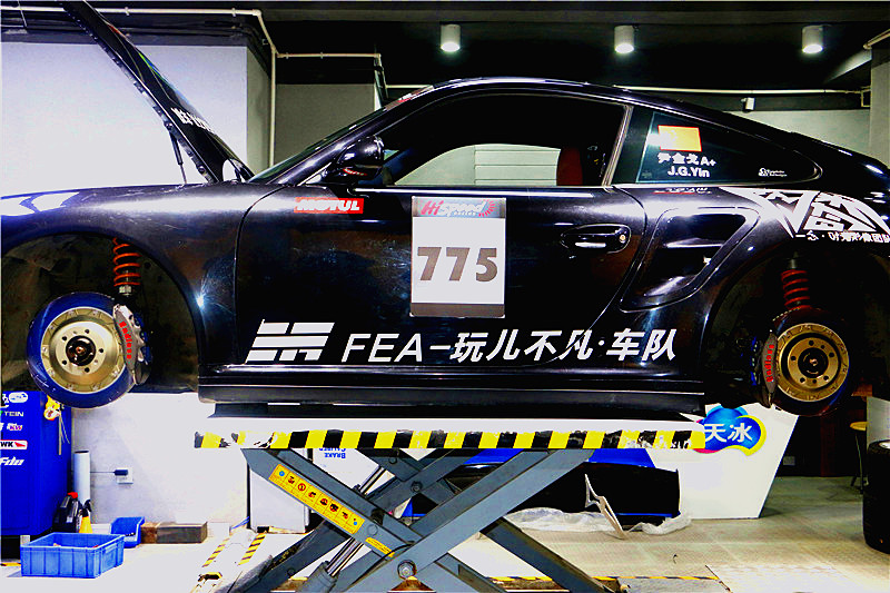 保时捷911(997)Turbo升级Endless