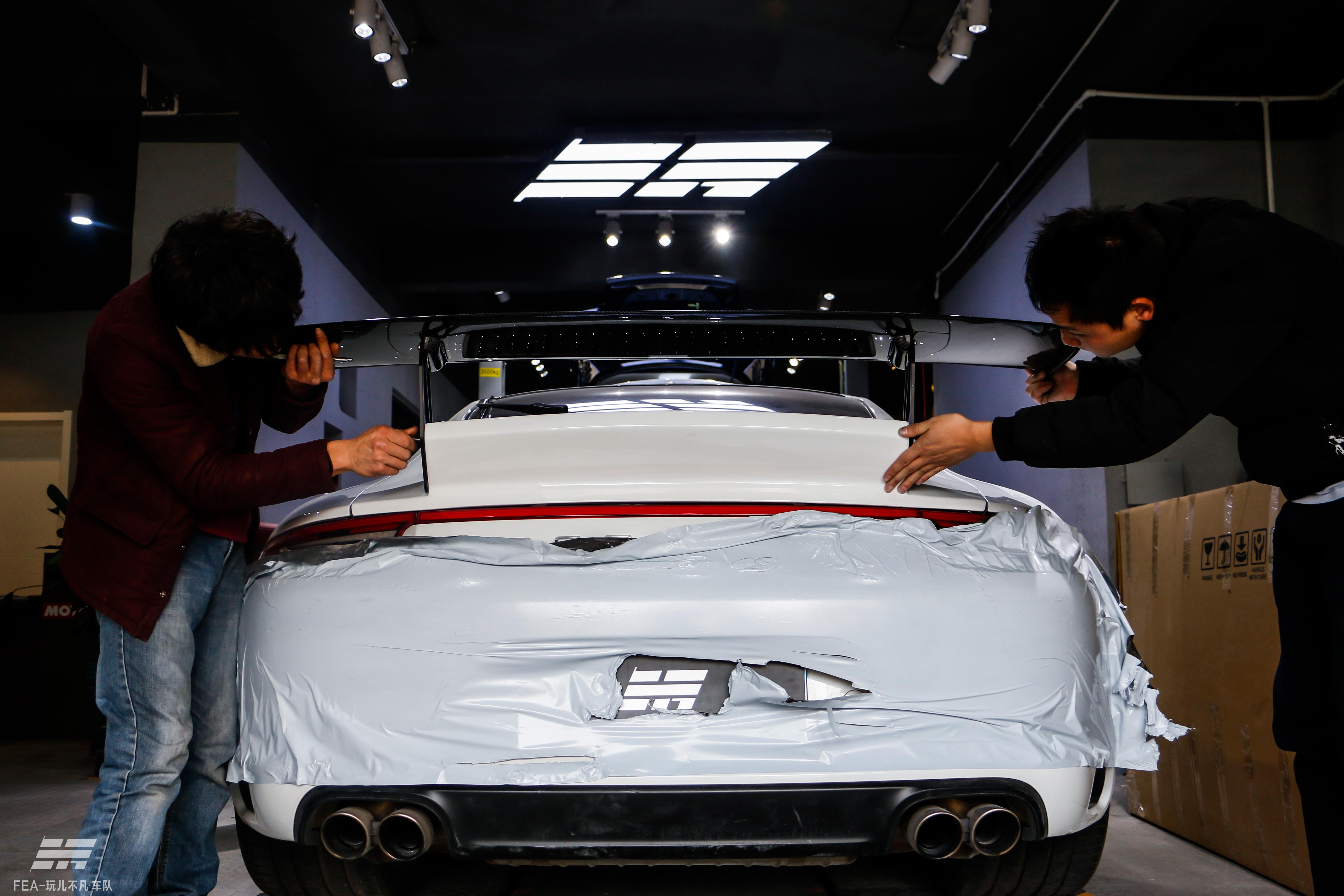Porsche 911(991.2)蜕变GT3 RS