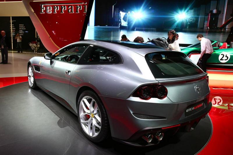 GTC4Lusso来袭 法拉利推新车你怎能不看?