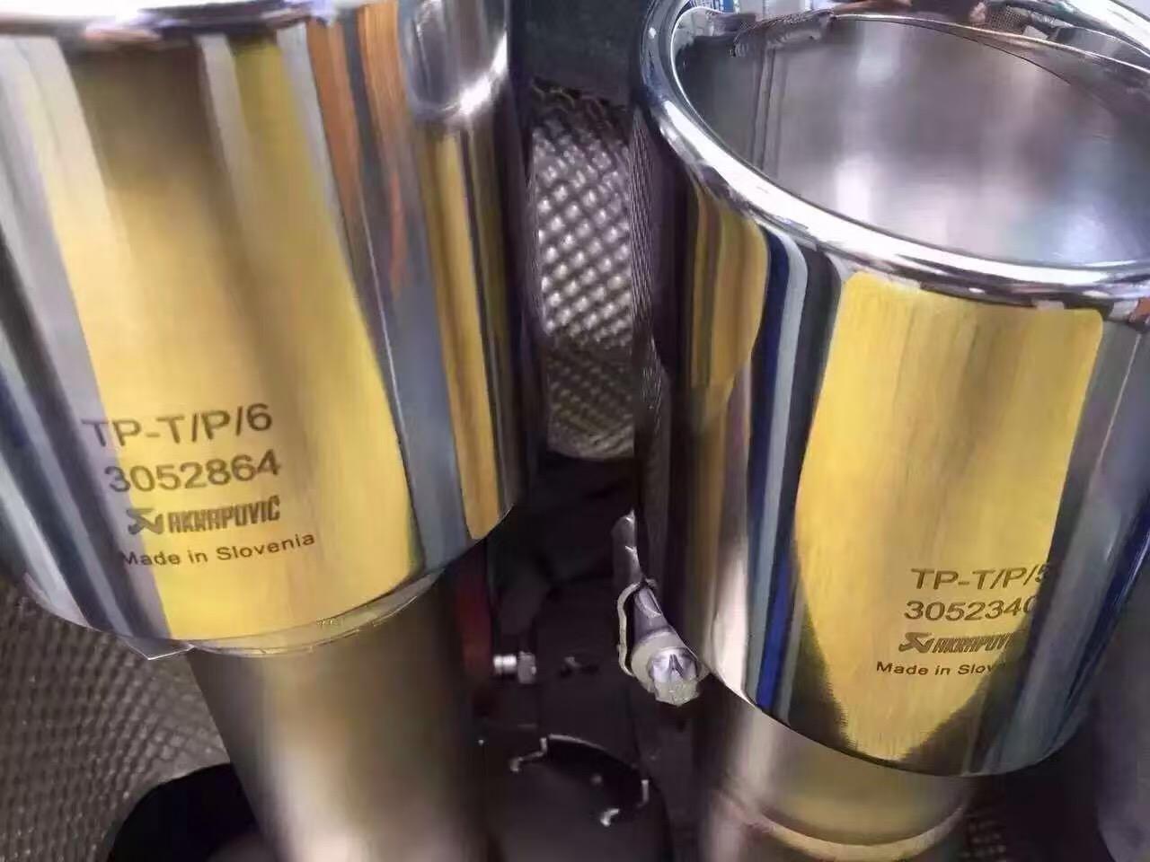 帕拉梅拉升级AK天蝎钛金运动排气