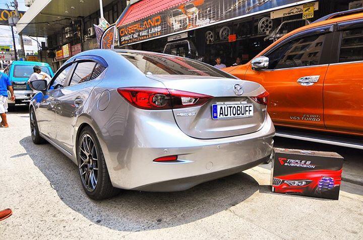 菲律宾新Mazda 3 BM升级Triple S 弹簧!