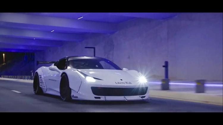 ?Ferrari 458 ltalia-午夜街头篇 Armytrix
