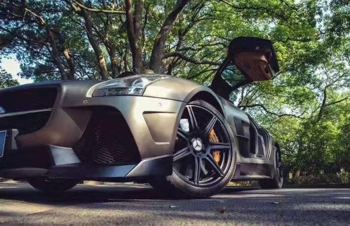 奔驰SLS  misha包围套件 VX:BFcar8