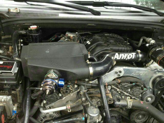大切若基加装机械增压套。动力套件来自于ANROT(安若特)提供