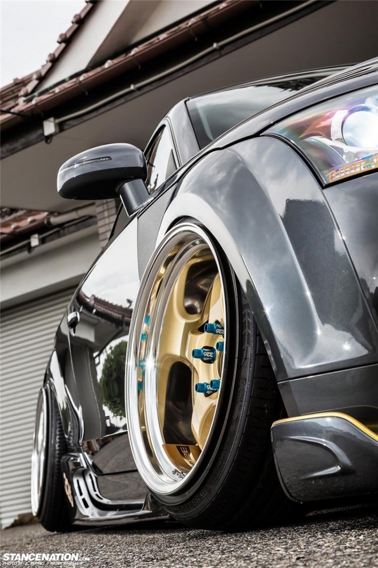 奥迪TT HellaFlush风格改装 轮上326ps