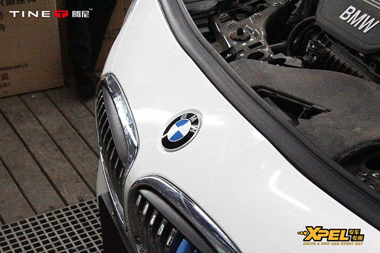 宝马BMW 218前杠手裁XPEL保护膜