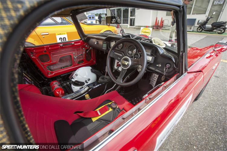 一部你从未见过的老车改装 本田S800