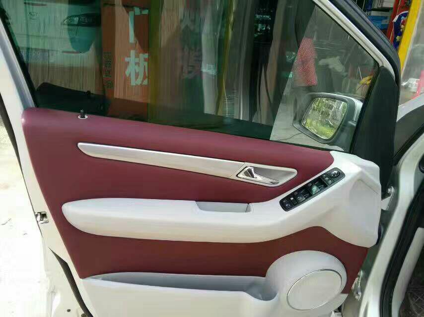 世通皮革改装车皮革案例,产品