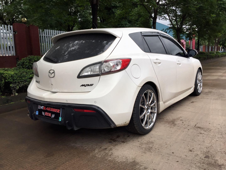 Mazda3星骋换装雅泛迪N993旋压轻量化轮毂!