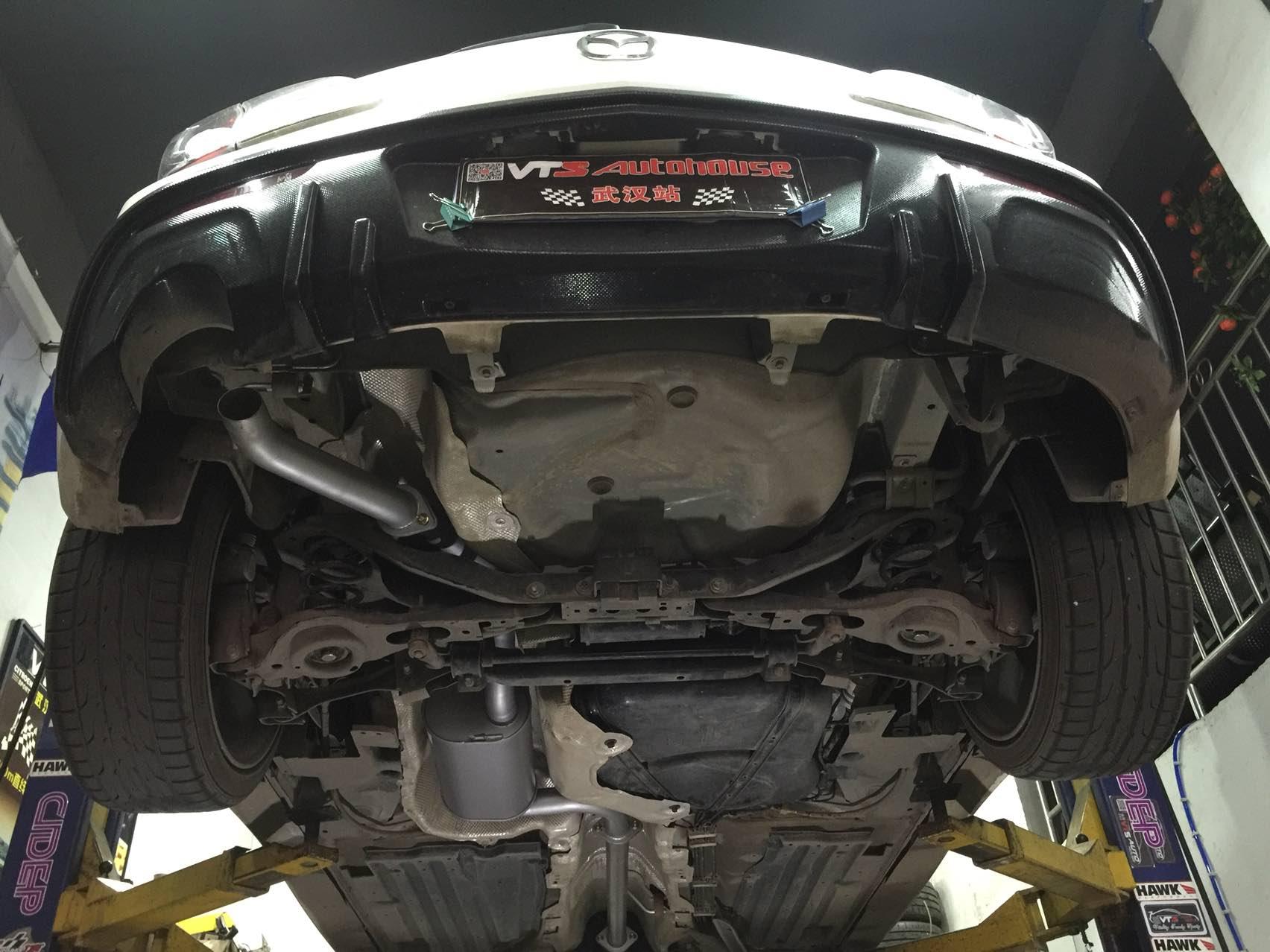 Mazda3星骋改装Sebring排气中尾段,同样来自奥地利的老牌排气,品质无忧,声浪美美!
