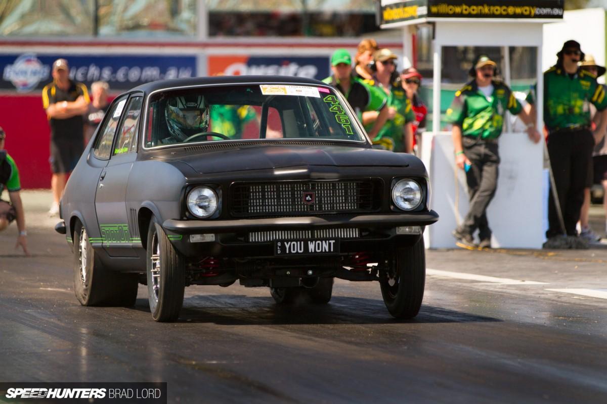 澳大利亚的跑车 霍顿Torana LJ赛道版