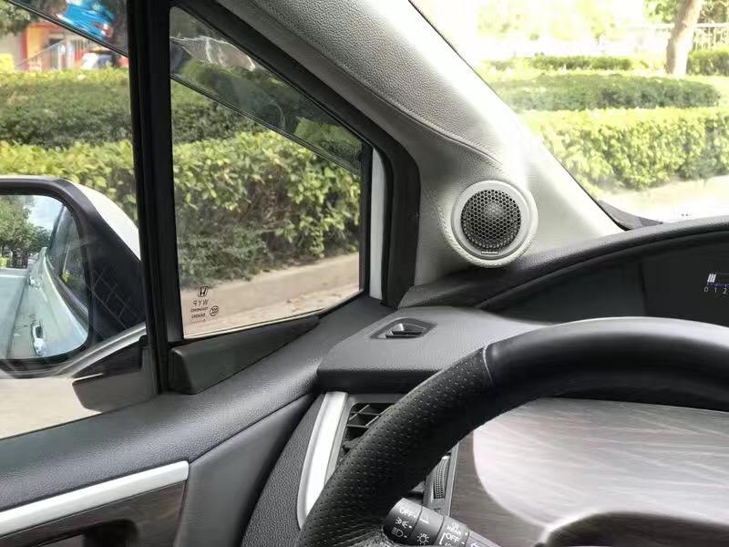 本田杰德改装丹拿232汽车音响--广州奕歌