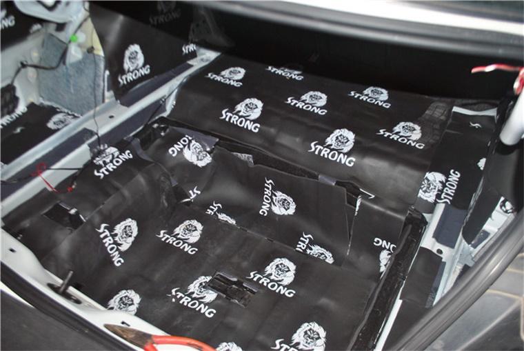 古典优雅——大众CC汽车音响改装广州车元素