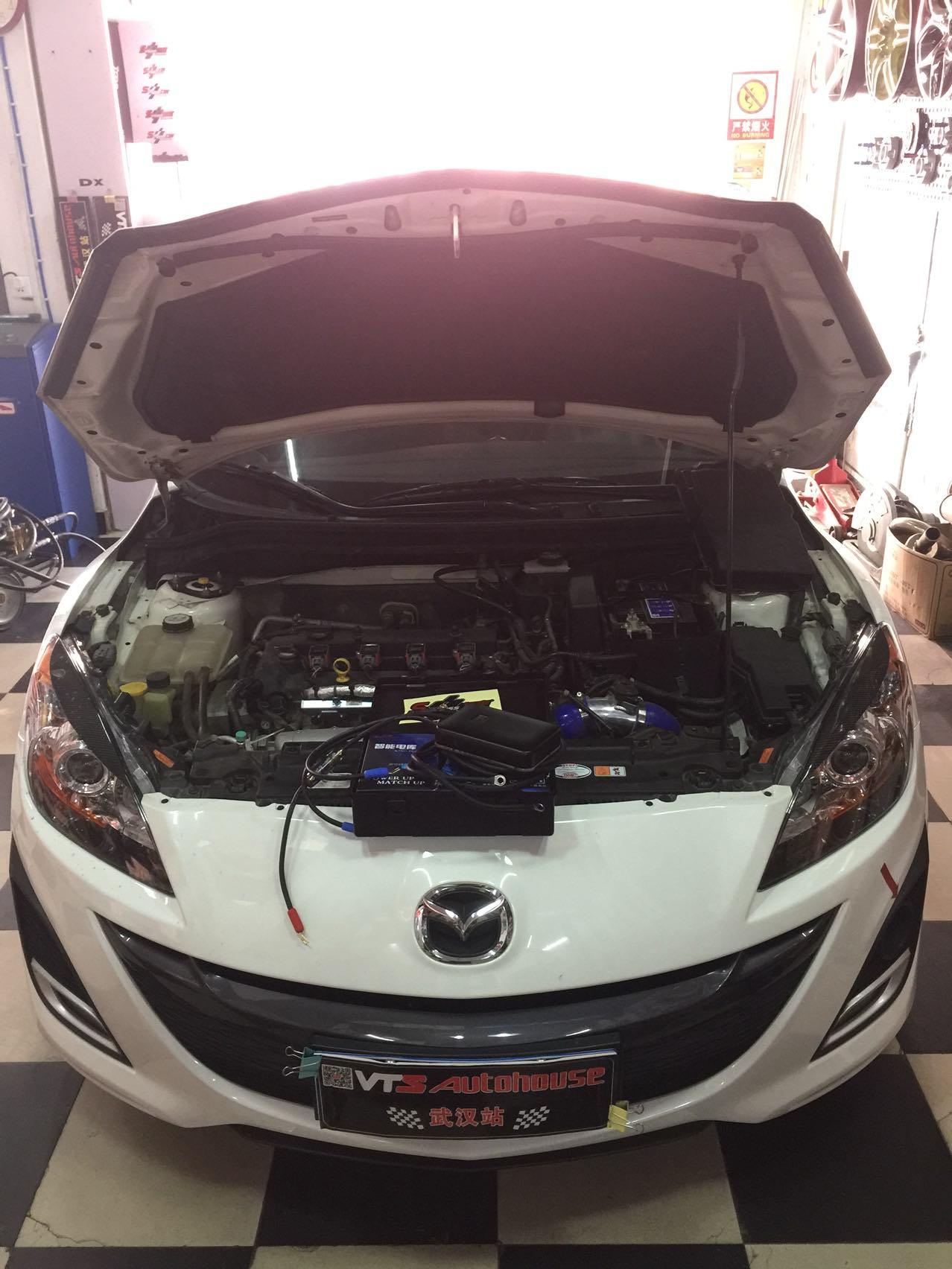 Mazda3 2.0自吸引擎加装力爽智能电库!