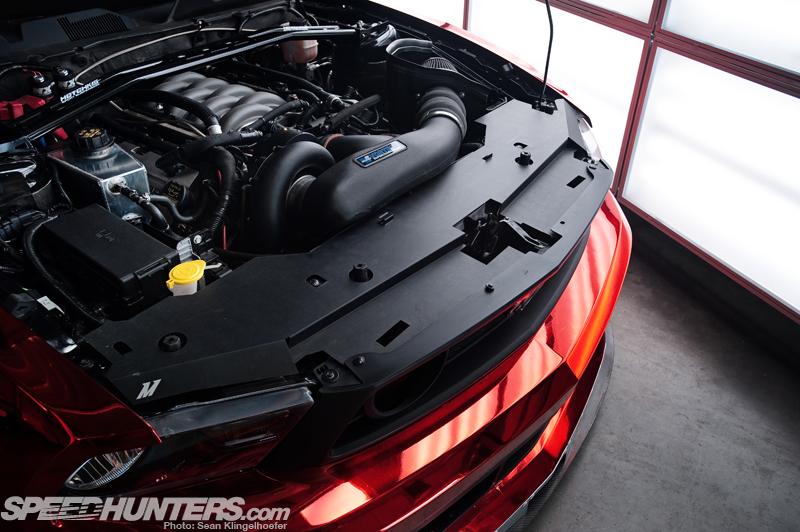 """""""亮骚!""""大红镀铬福特野马GT500改装欣赏"""