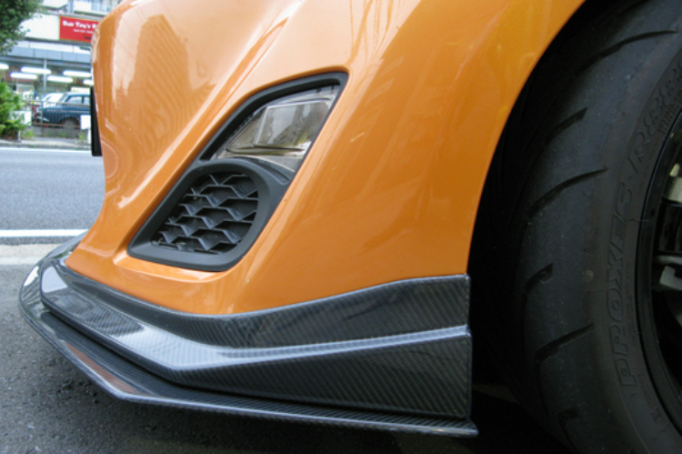 斯巴鲁BRZ改装Vortex碳纤维包围套件