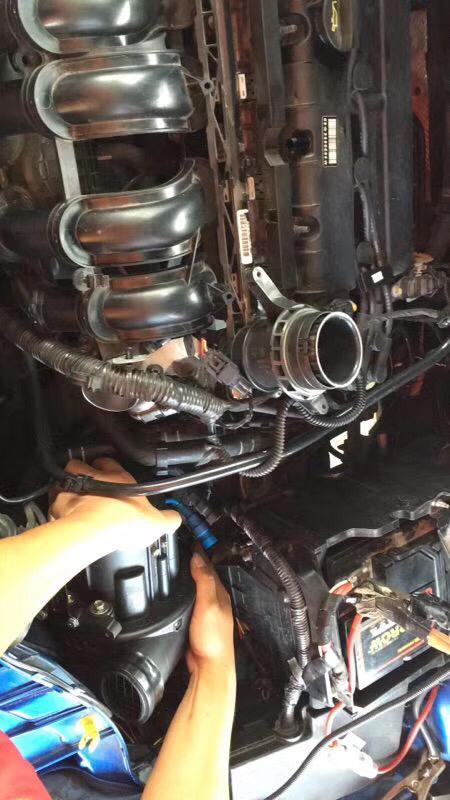 ?福克斯加装创能电动涡轮增压器