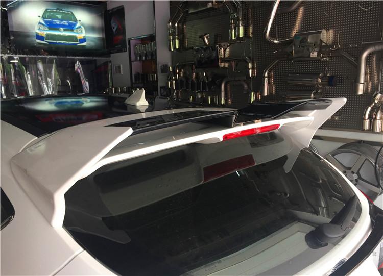 福克斯小包围尾翼左右单出排气套件改装