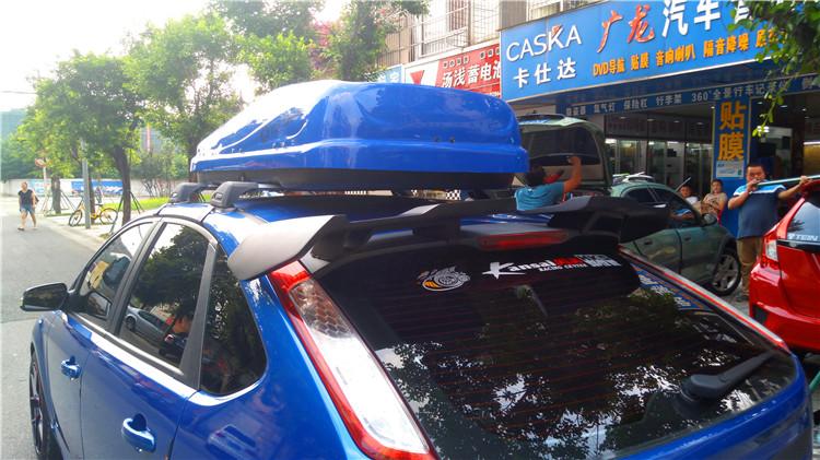 经典福克斯改装中尾段排气轮毂小包围
