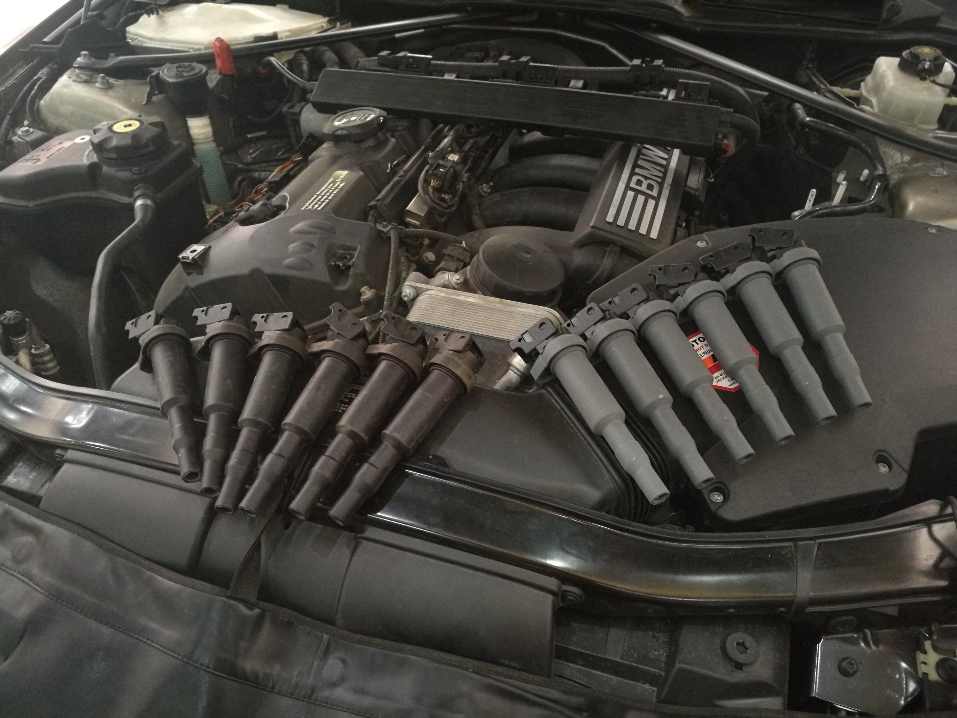 宝马3系325I操控升级,刹车避震排气改