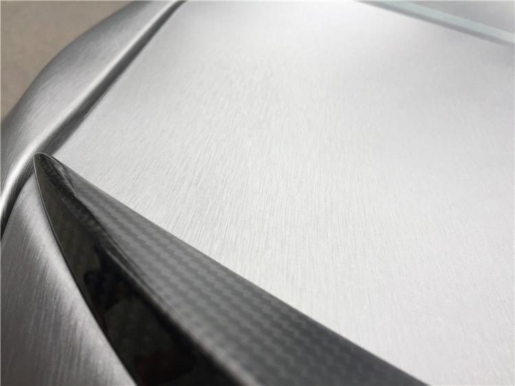 宝马320改装KW避震MT包围全车改色膜