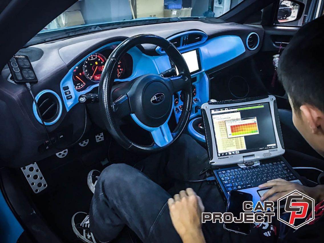 斯巴鲁BRZ ECUTEK程序特调,开启赛道利器自动补油、全油门换挡、弹射起步、档位断油!