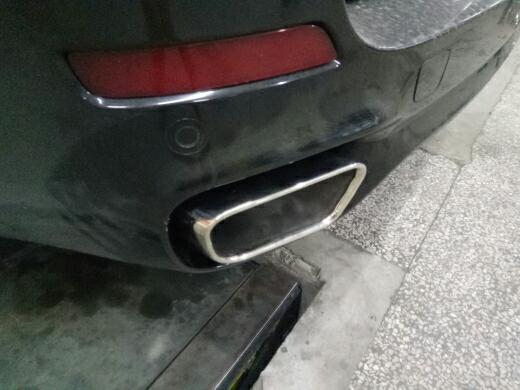 宝马X5改装方口排气尾嘴