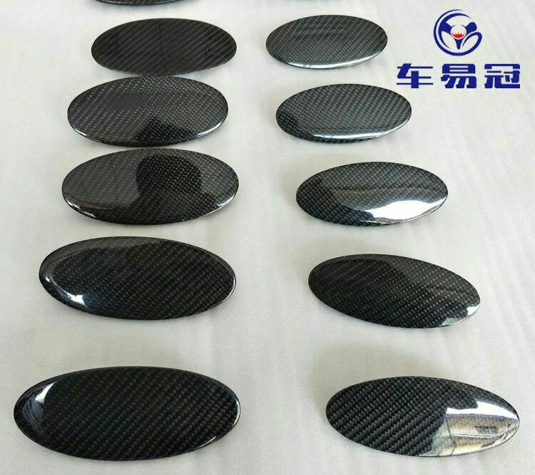 郑州车易冠 福特13-17款蒙迪欧 13-14款嘉年华碳纤维前后车标
