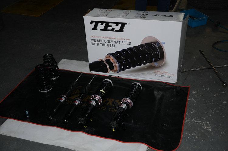 飞度升级TEI绞牙和刹车