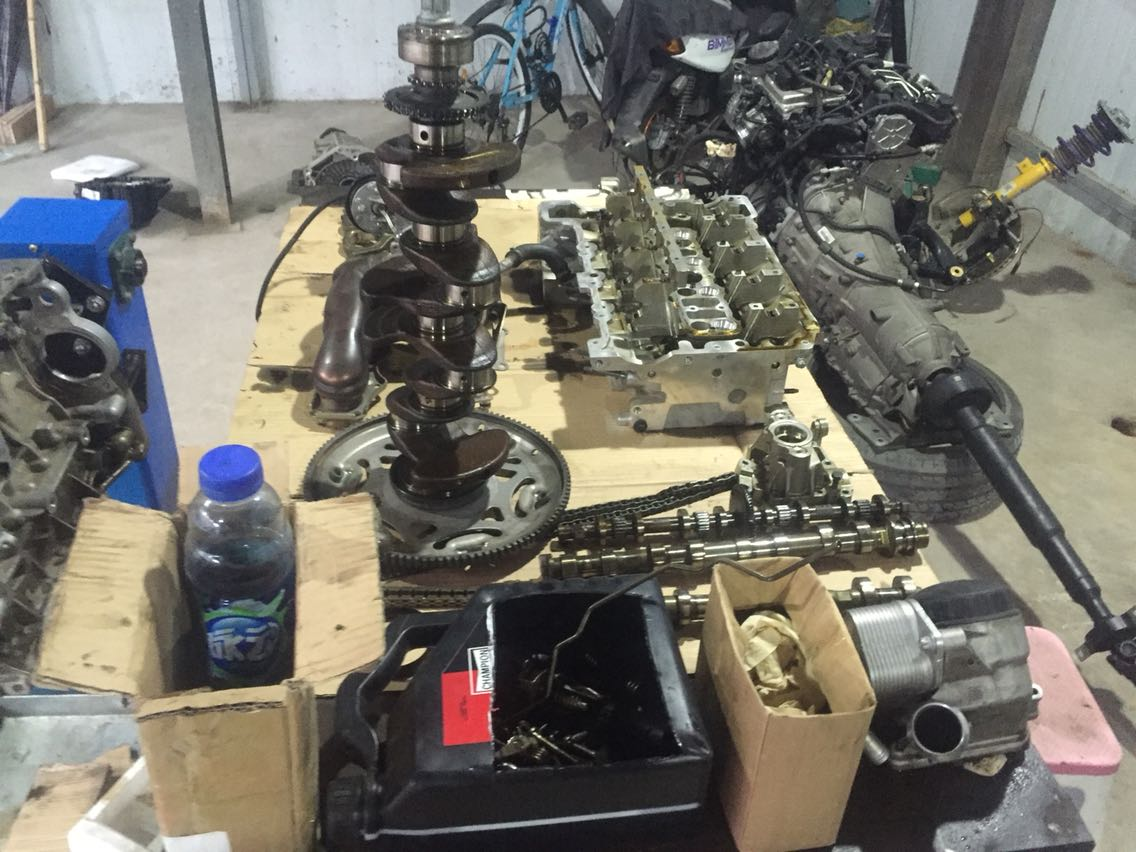 N20发动机锻造!400匹套件