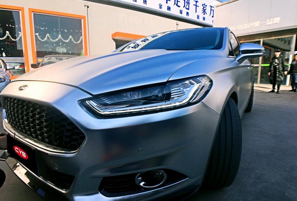 成都福特亚光电镀银汽车改色贴膜