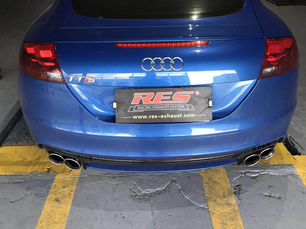 奥迪TTS 改装RES可变阀门排气