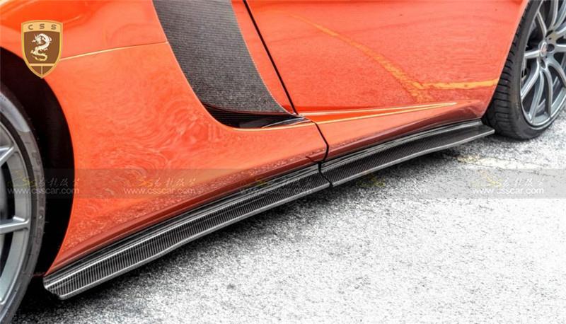 迈凯伦MP4-12C改650S外观碳纤前后包围尾翼
