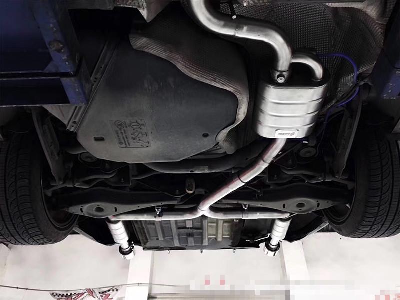 大众CC 改SETRS中尾阀门排气